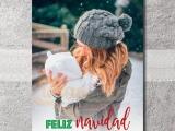 tarjeta navideña personalizada